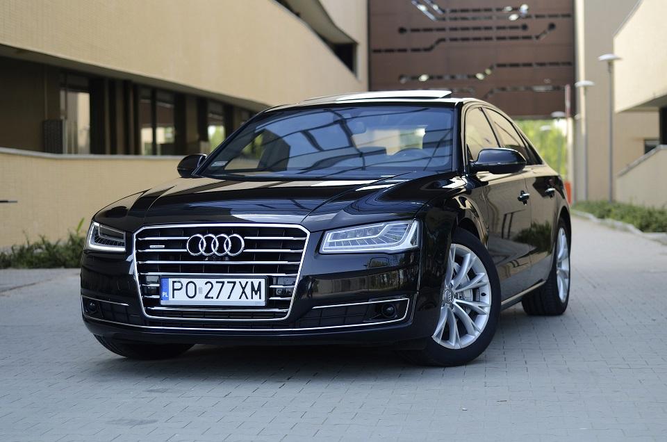 Jaka Jest Cena Luksusu Test Audi A8 Strefatestowpl