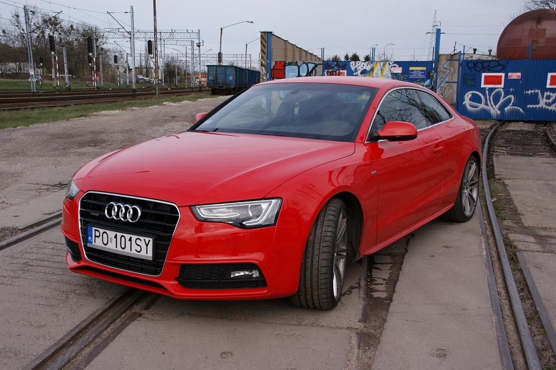Inteligentny Czerwony najszybszy? Test Audi A5 Coupe | Strefatestow.pl GF06