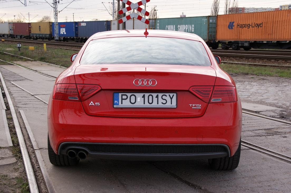 Chwalebne Czerwony najszybszy? Test Audi A5 Coupe | Strefatestow.pl NS44