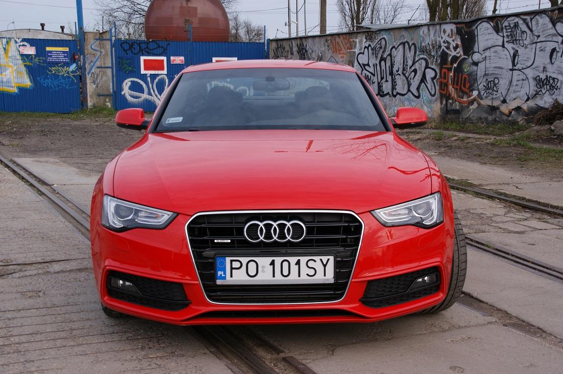 Góra Czerwony najszybszy? Test Audi A5 Coupe | Strefatestow.pl HN61